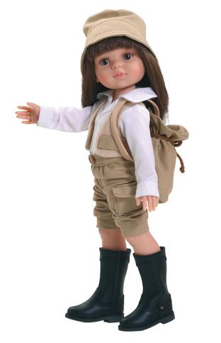 Realistická panenka Carol - CESTOVATELKA od Paola Reina ze Španělska (Doprava od 35 Kč)