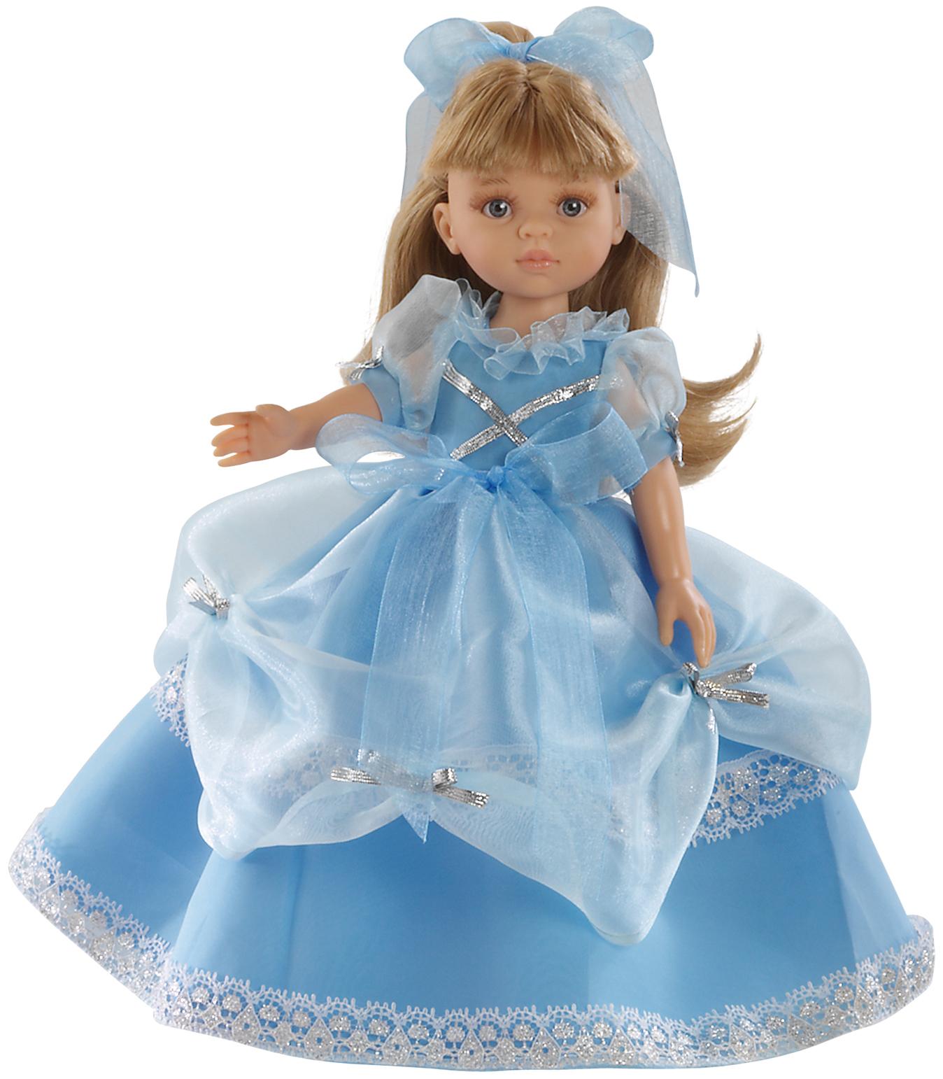 Realistická panenka modrá princezna od Paola Reina ze Španělska (Doprava zdarma)