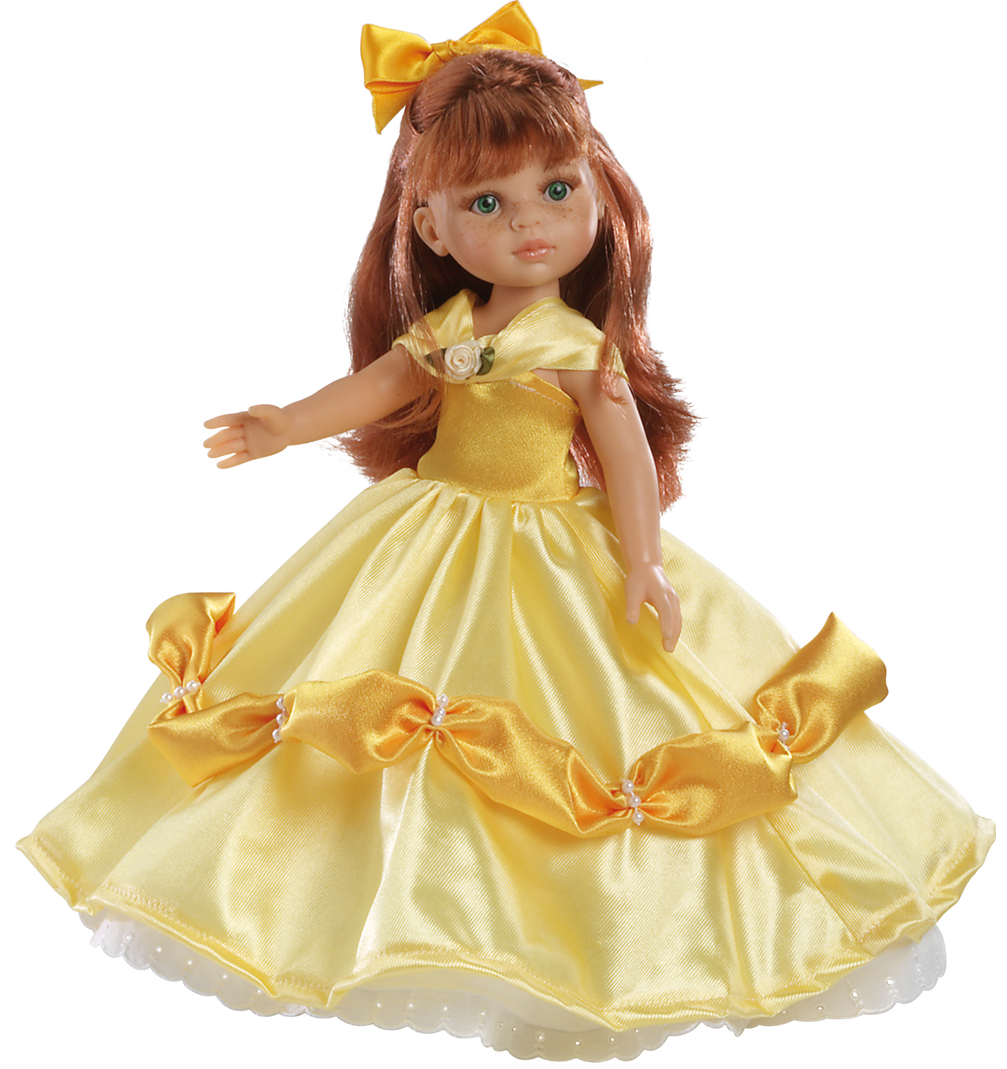 Realistická panenka žlutá princezna od Paola Reina ze Španělska (Doprava zdarma)