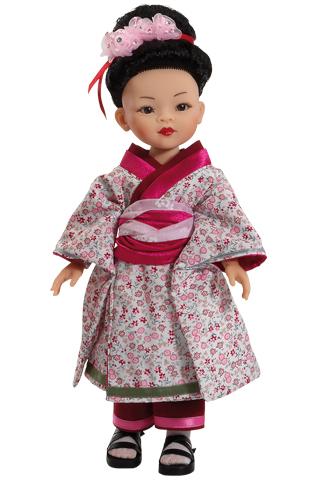 Realistická panenka Geisha od Paola Reina ze Španělska (Doprava zdarma)