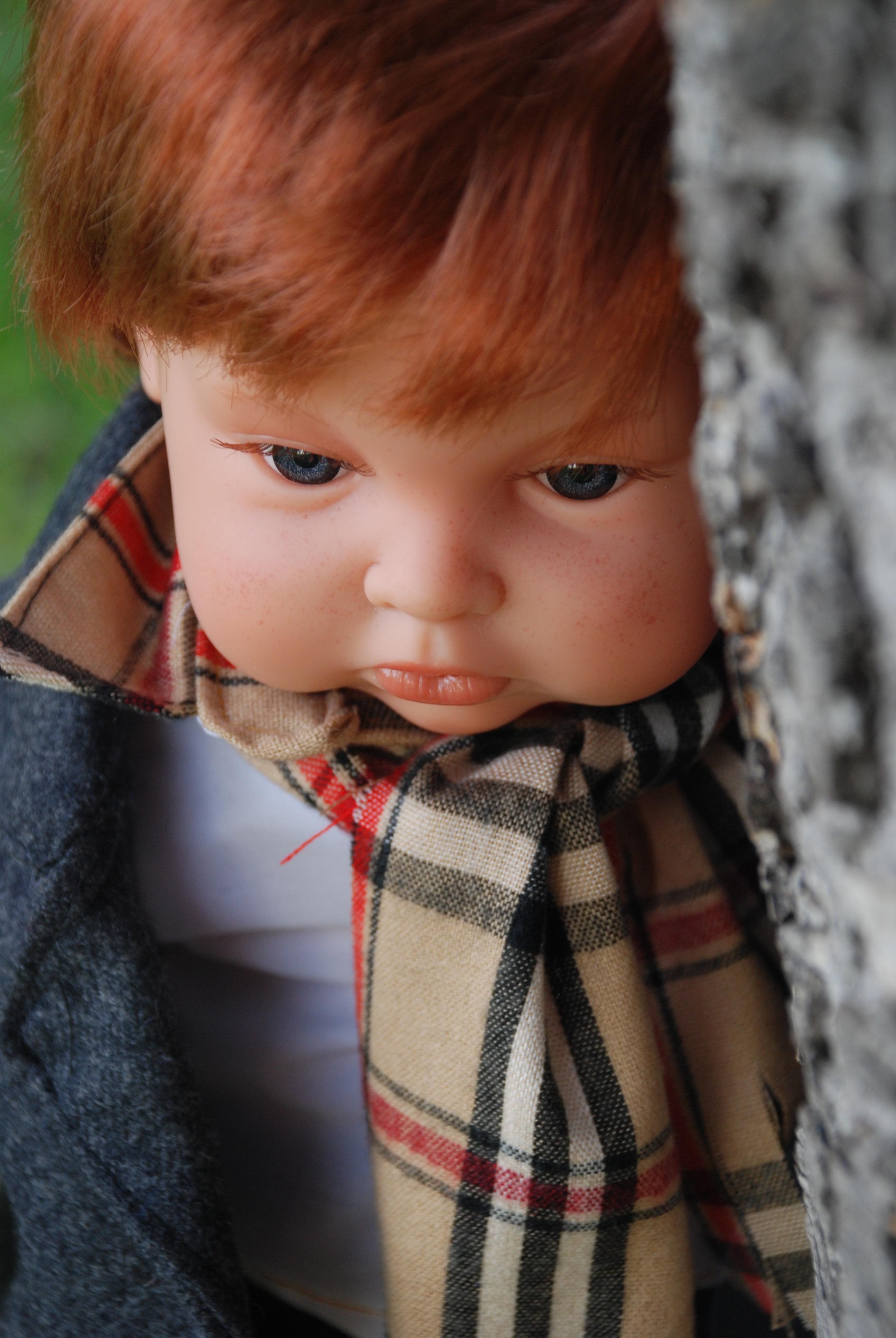 Realistická panenka chlapeček Berry od firmy Endisa ze Španělska (Doprava zdarma)