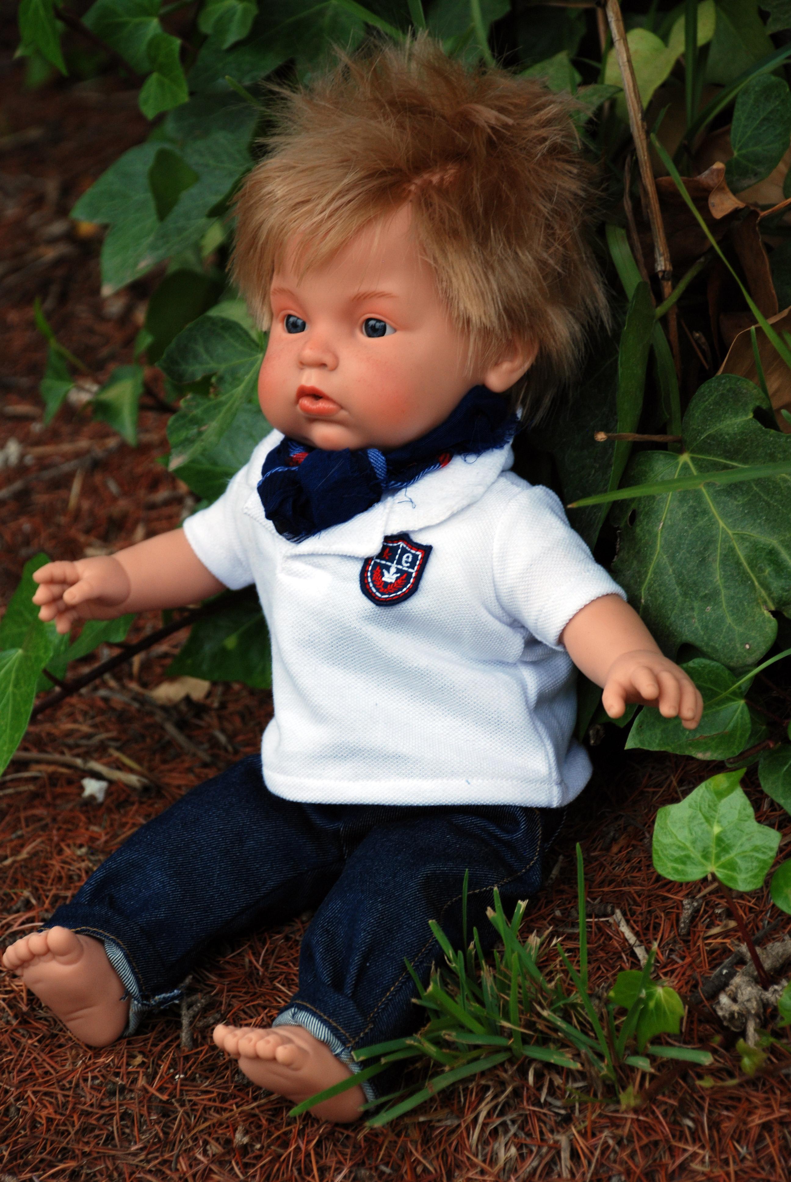 Realistická panenka chlapeček Lauren od firmy Endisa ze Španělska (Doprava zdarma)