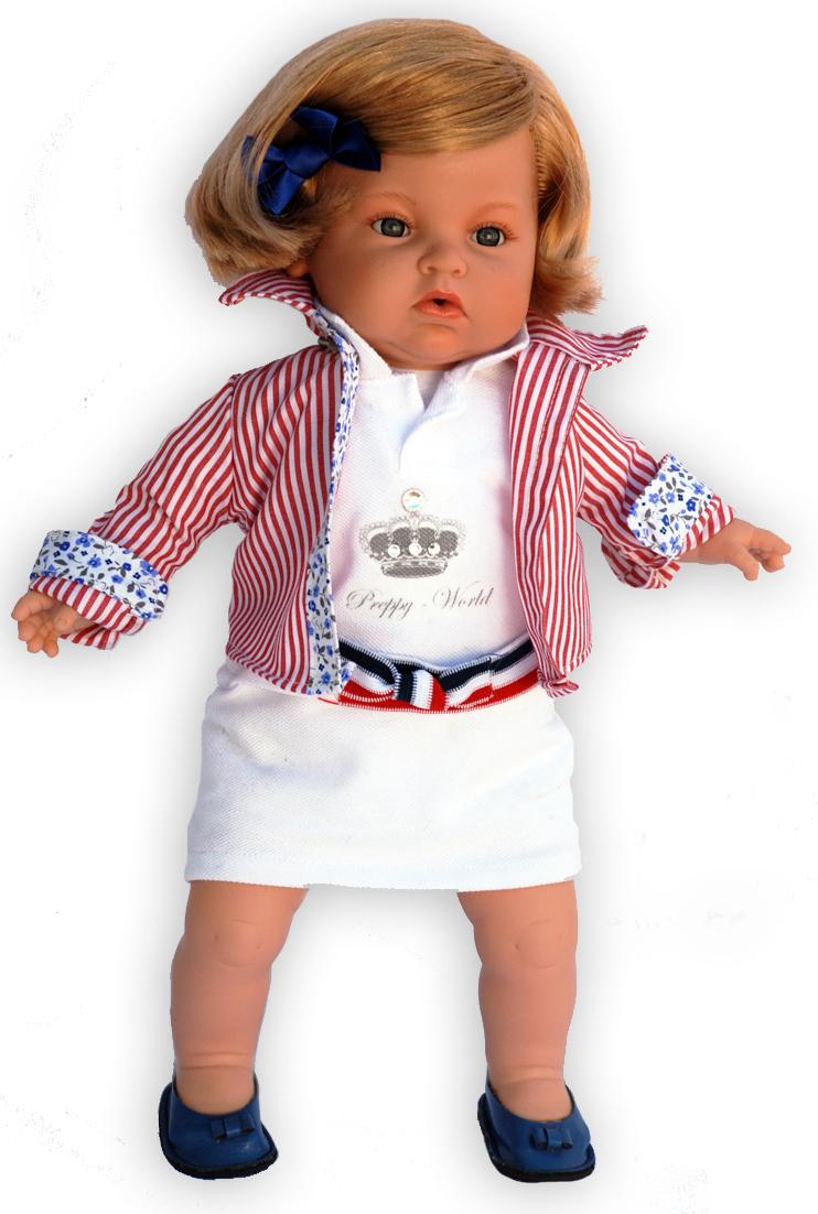 Realistická panenka holčička Victoria od firmy Endisa ze Španělska