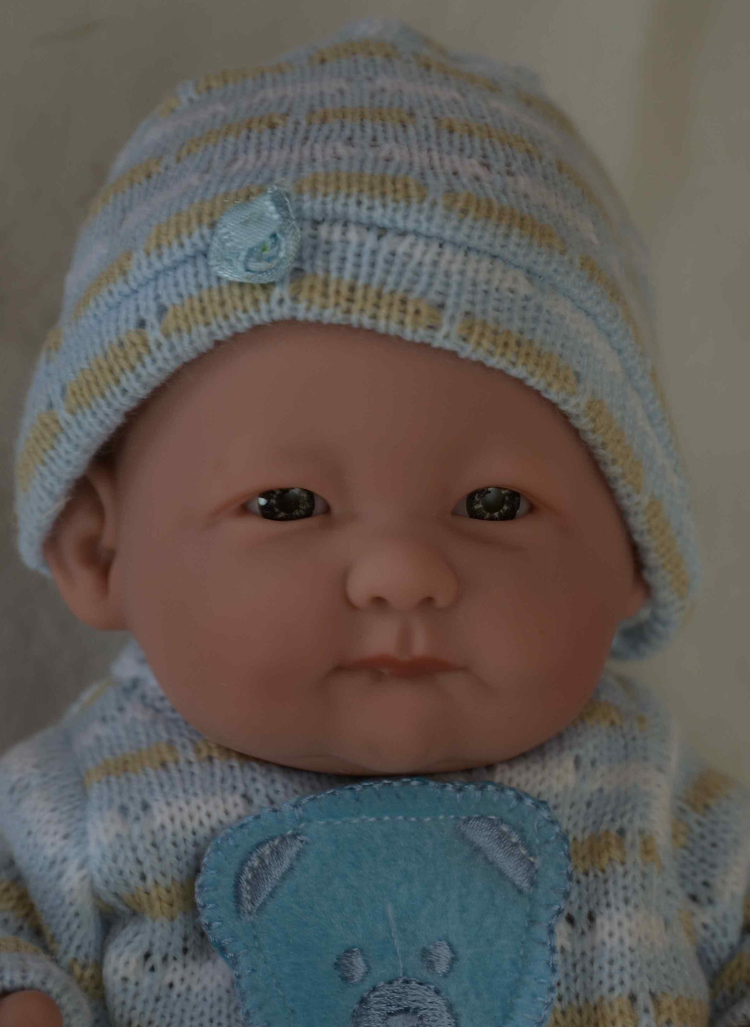 Realistická panenka chlapeček Aleš od firmy Guca ze Španělska (Doprava od 35 Kč)