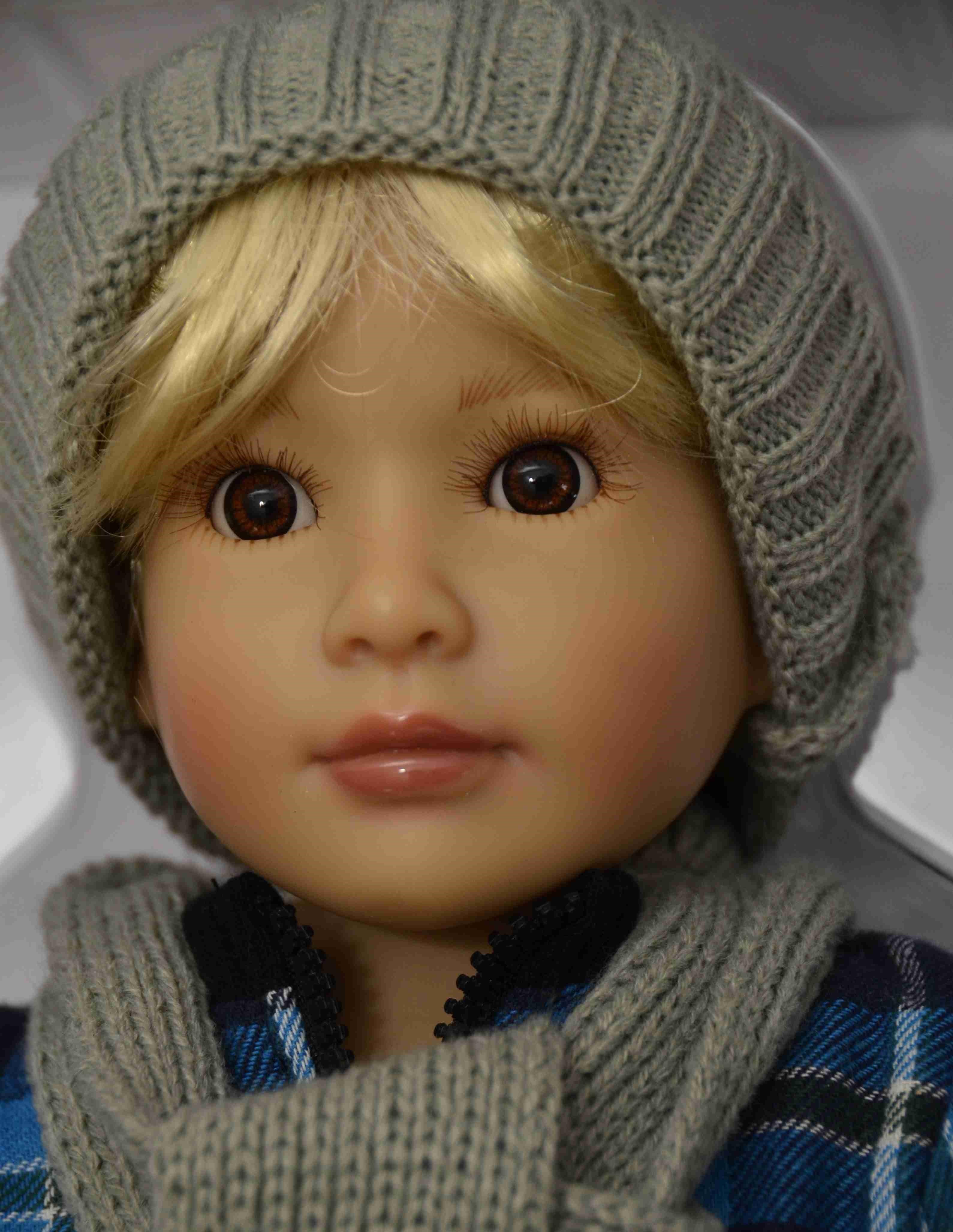 Kloubová panenka - kluk Jakob značky Kidz-n-Cats (Doprava od 35 Kč)