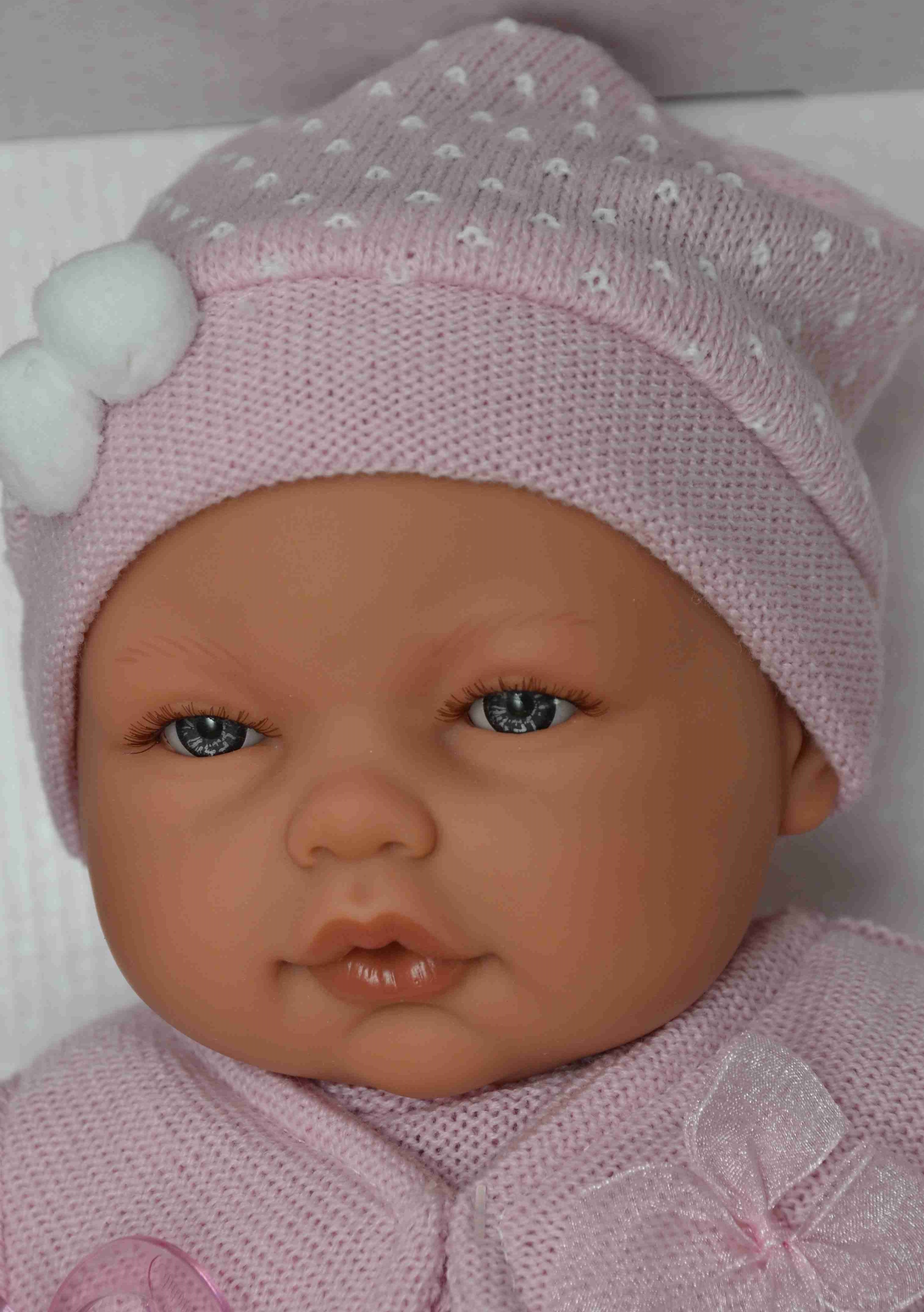 Realistické miminko - holčička - Bimba od Antonio Juan