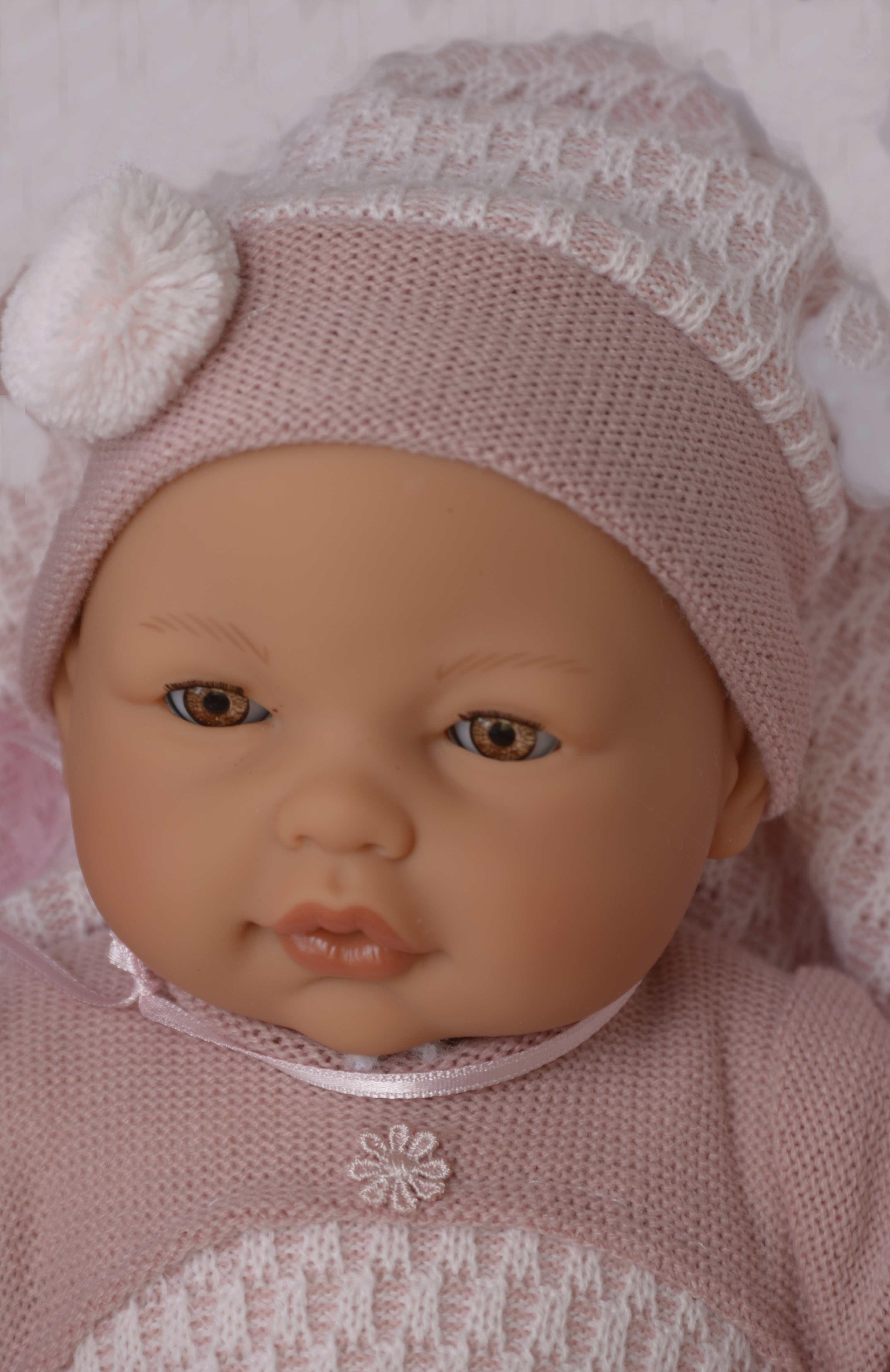 Realistické miminko - Bimba v peřince- mrkací od Antonio Juan