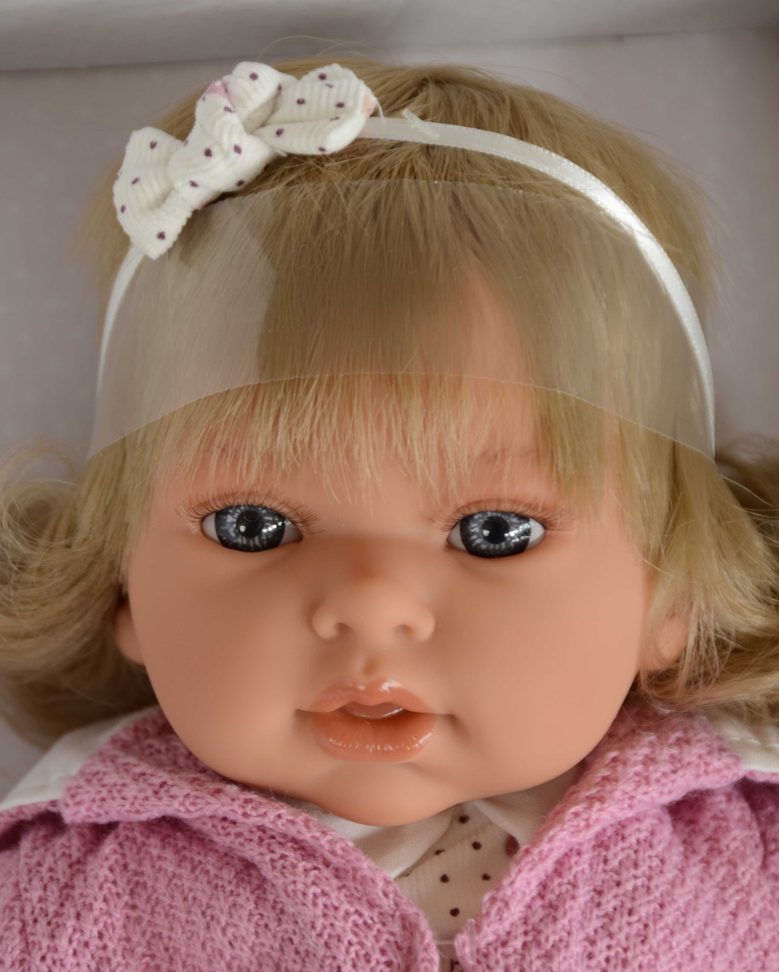 Realistická panenka Antonio Juan - holčička Any Melenita - světlé vlásky (Doprava zdarma)