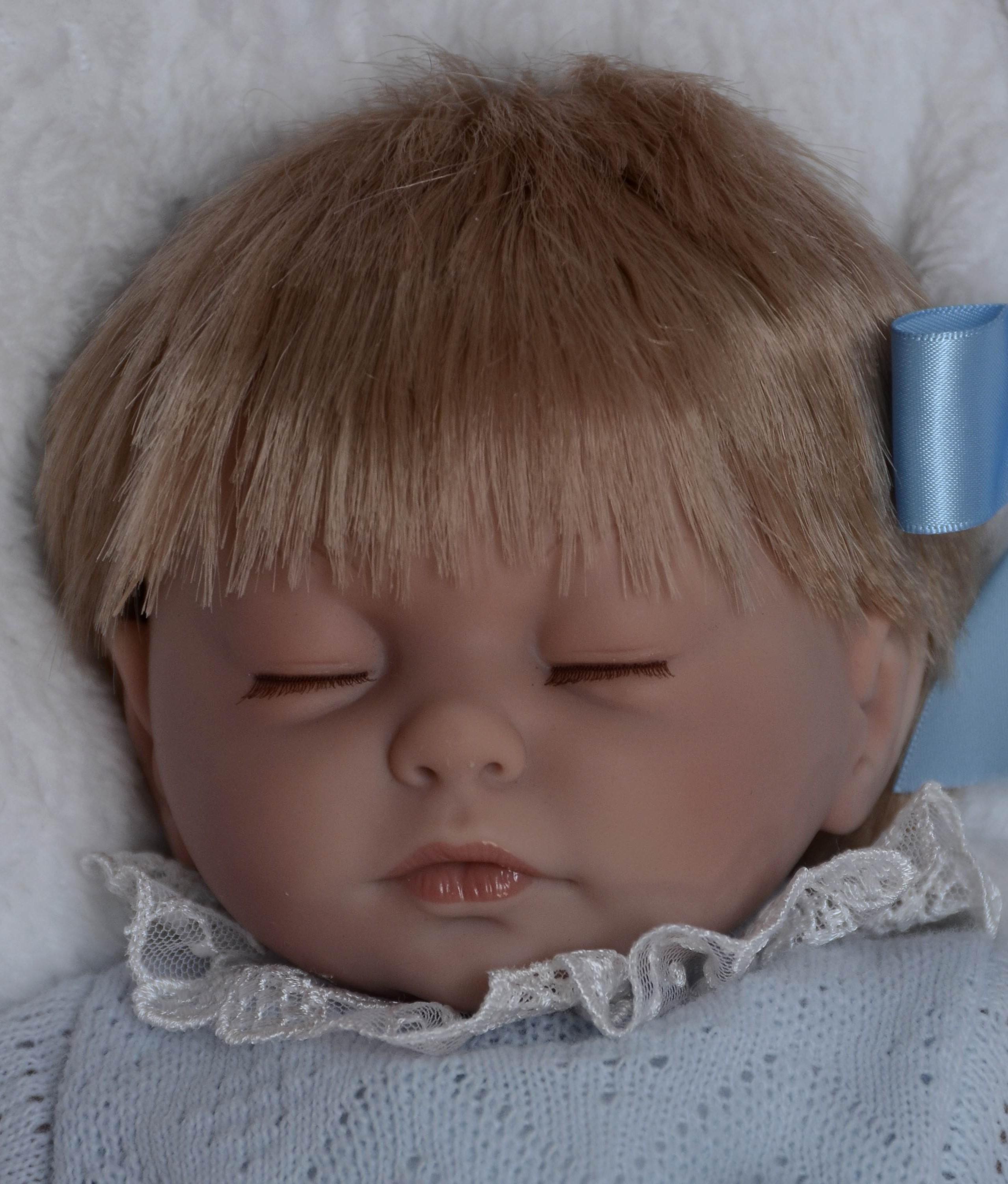 Spící chlapeček Kristián od firmy Guca (Realistické miminko ze Španělska)