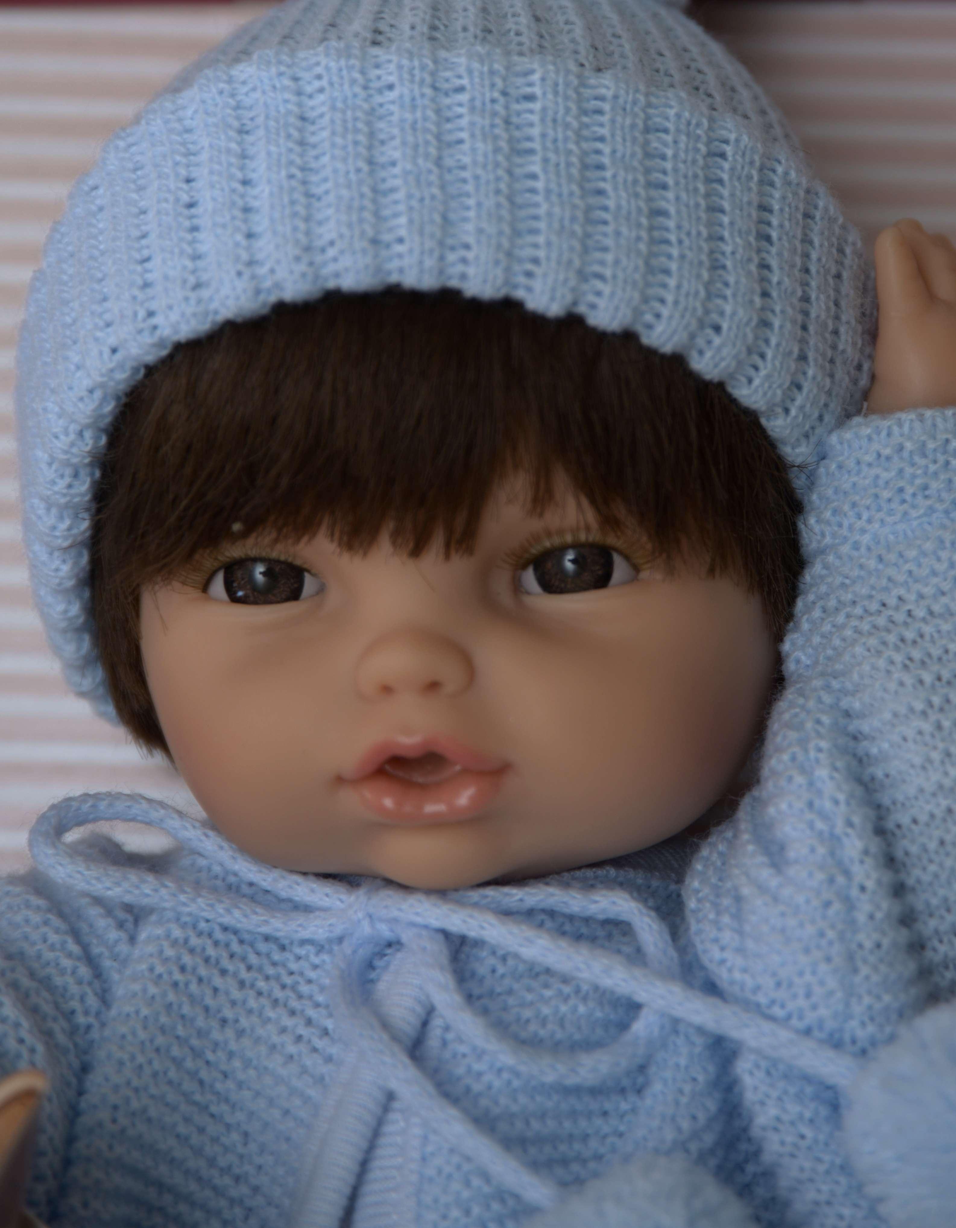 Realistické miminko chlapeček Jára od firmy Berjuan ze Španělska