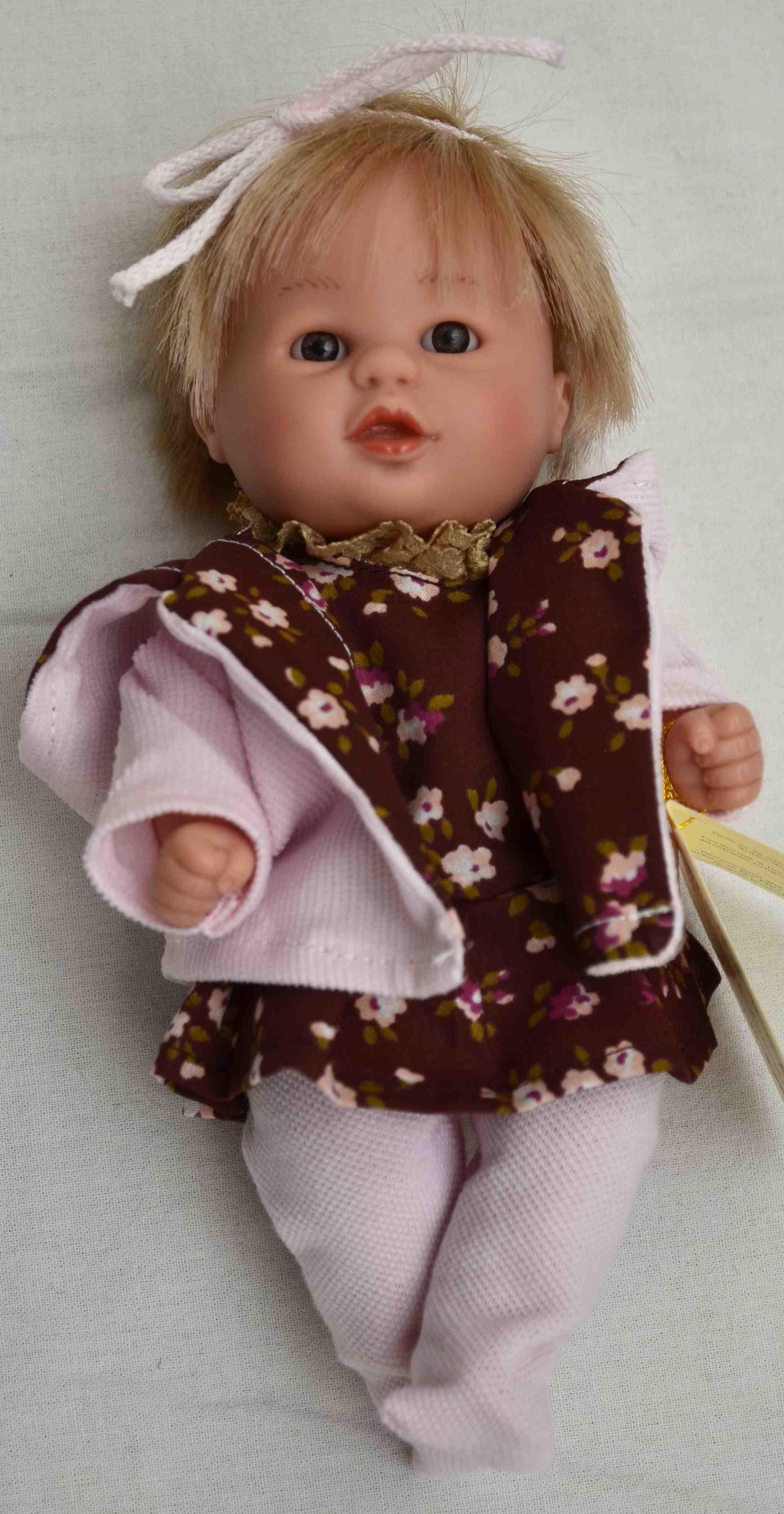 Realistická panenka - holčička - Anička od firmy D´nenes