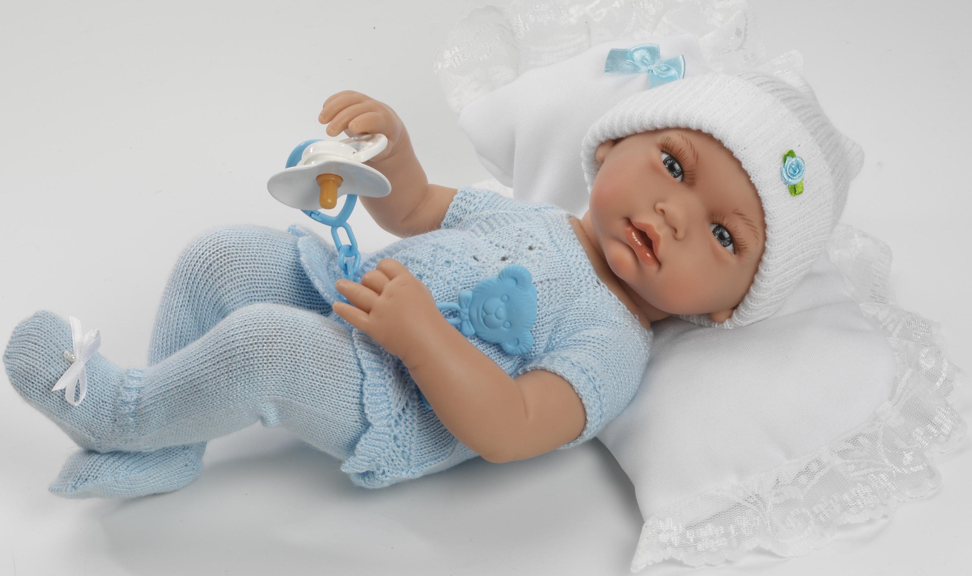 Realistické miminko - chlapeček Josífek od firmy Guca ze Španělska (Doprava zdarma)