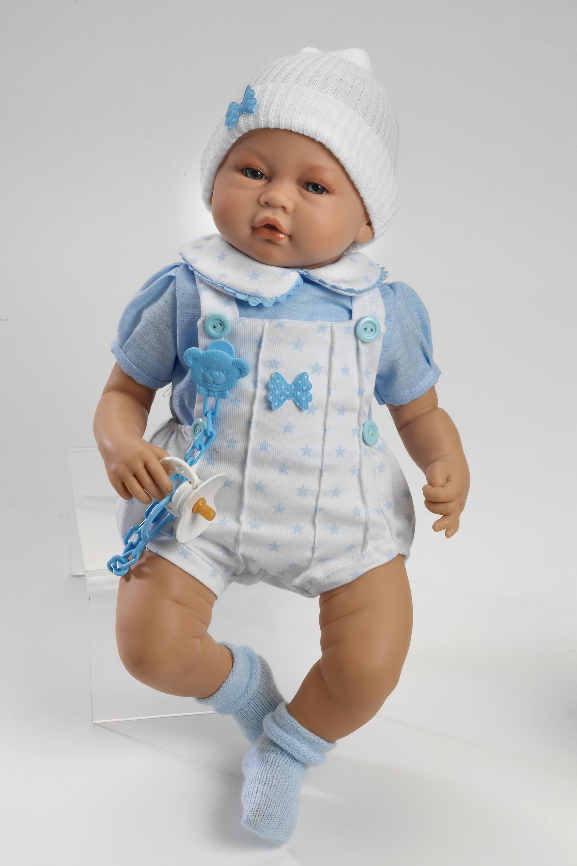 Realistické miminko - chlapeček Iker od firmy Guca ze Španělska (Doprava zdarma)