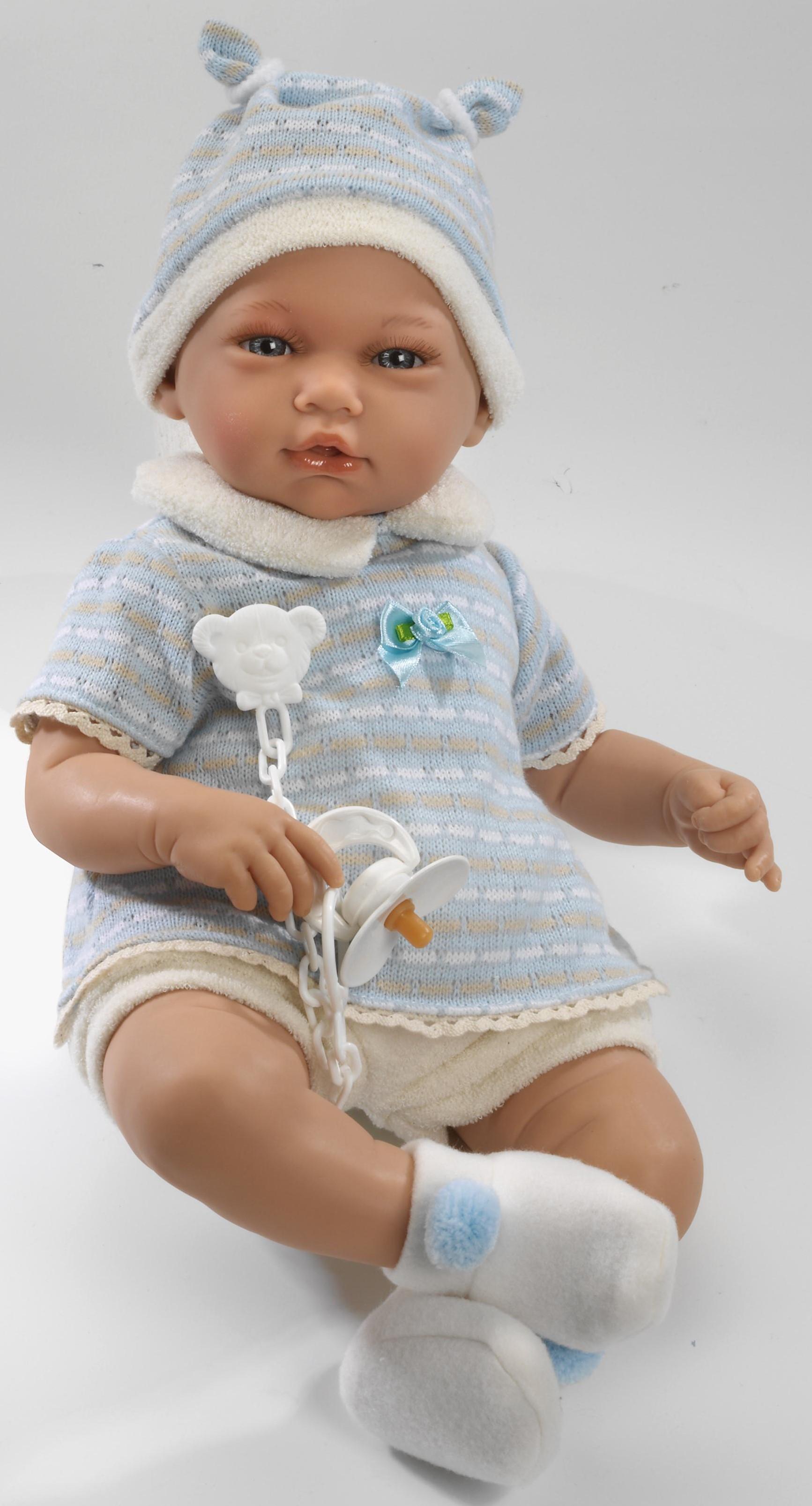 Realistické miminko - chlapeček Adrián od firmy Guca ze Španělska (Doprava zdarma)