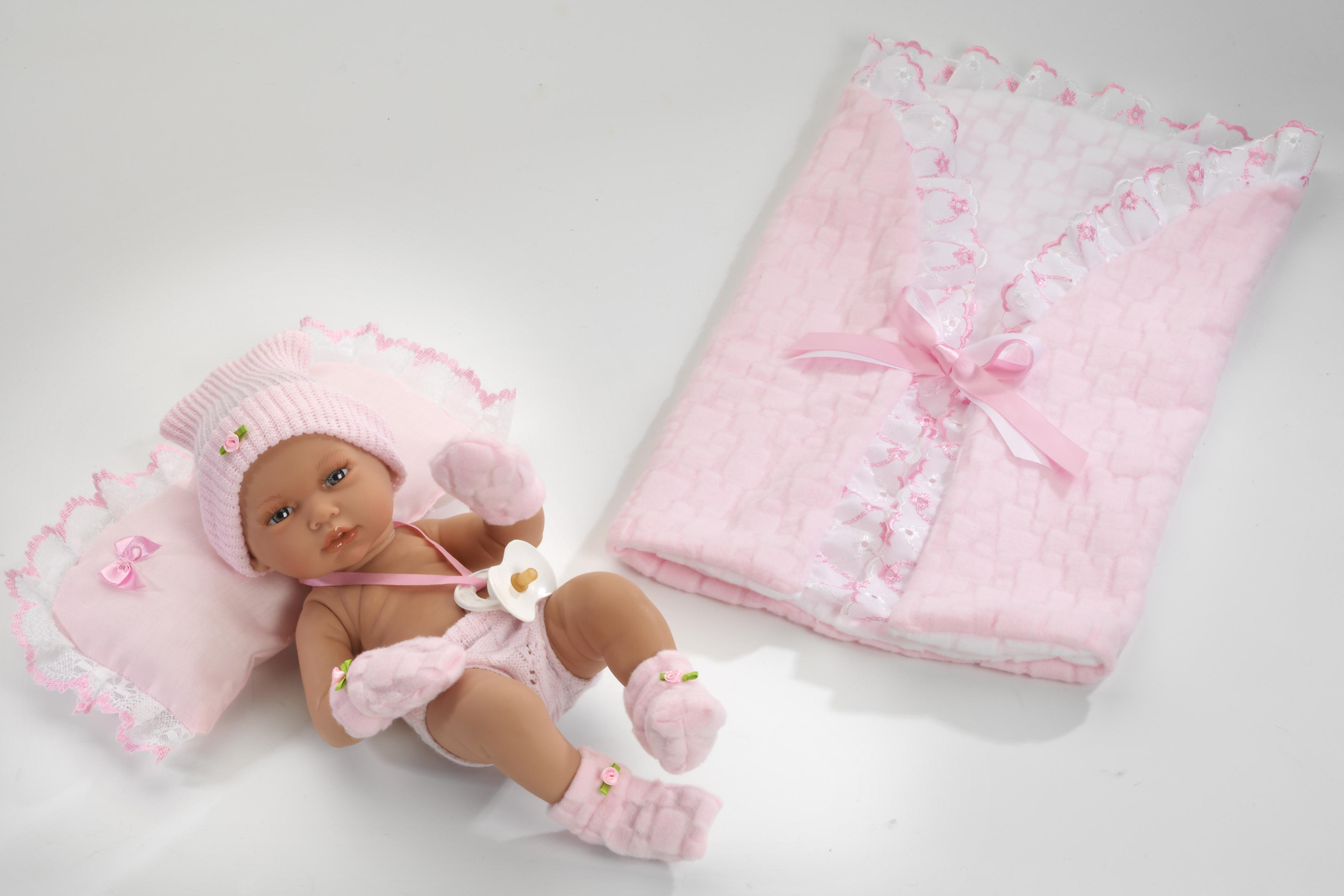 Realistické miminko - holčička Anetka od firmy Guca ze Španělska (Doprava zdarma)