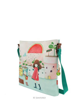 "Kabelka cross body - ""Melon Showers"" od firmy SANTORO Kori Kumi"