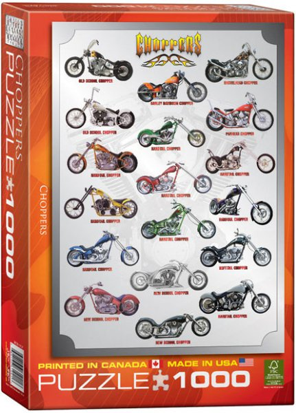 PUZZLE EuroGraphics - Choppers 1000