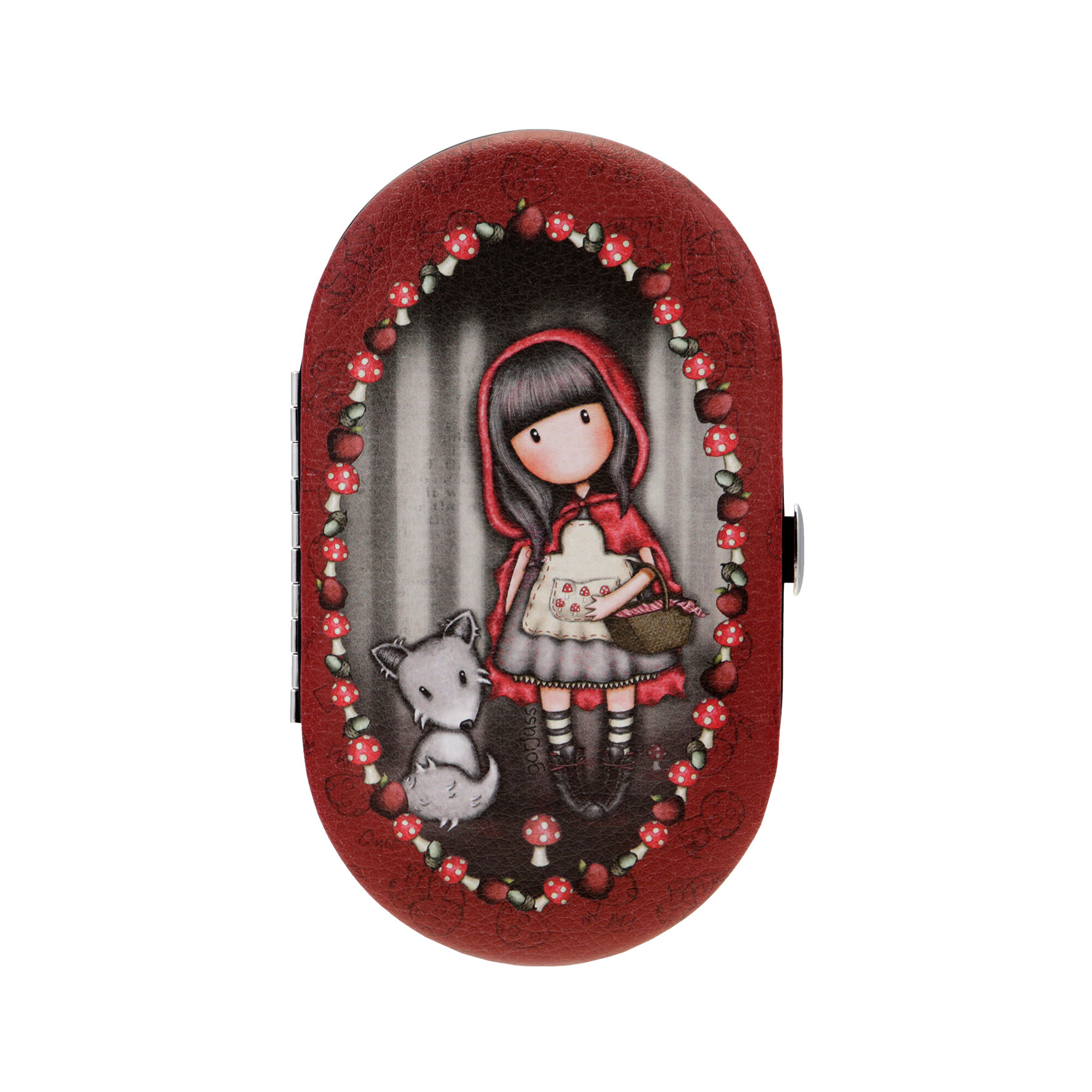 "Manikúra ""Little Red Riding Hood"" od firmy SANTORO Gorjuss"