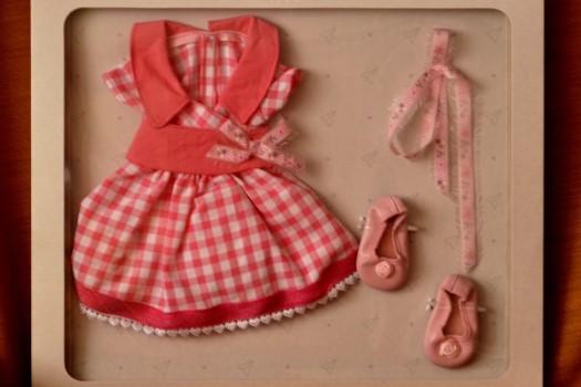 Sada na panenku Amor 06001 (Obleček + boty)