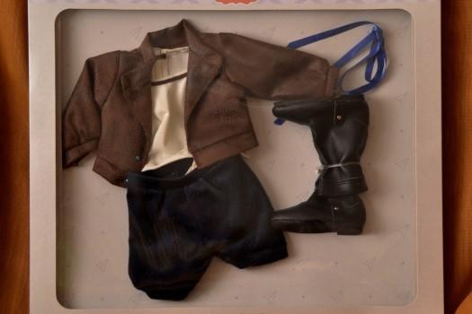 Sada na panenku Emily 06004 (Obleček + boty)