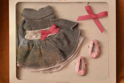 Sada na panenku Emily 06002 (Obleček + boty)