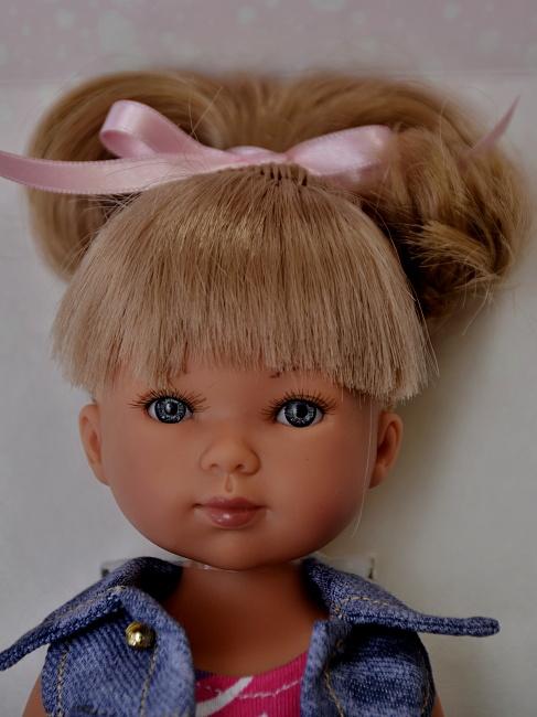 Realistická panenka Carlota - jeden culík - od firmy Vestida de Azul (Doprava zdarma)