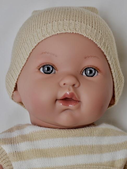 Realistické miminko chlapeček Milan od firmy Vestida de Azul (Doprava zdarma)