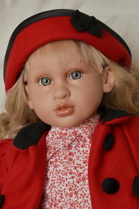 Realistická panenka Abril od firmy Lamagik ze Španělska (Doprava zdarma)