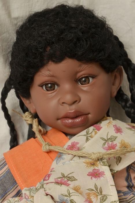 Realistická panenka Alika od firmy Lamagik ze Španělska (Doprava zdarma)