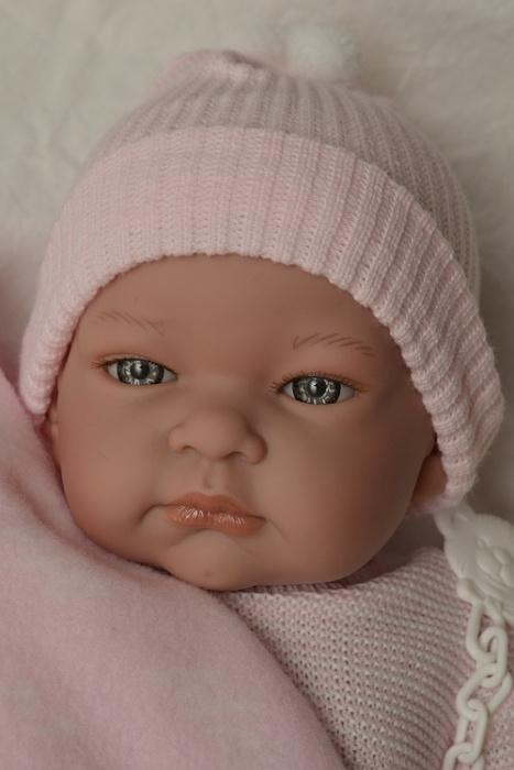 Realistické miminko - holčička - Jenny s dekou od firmy Lamagik (Doprava zdarma)