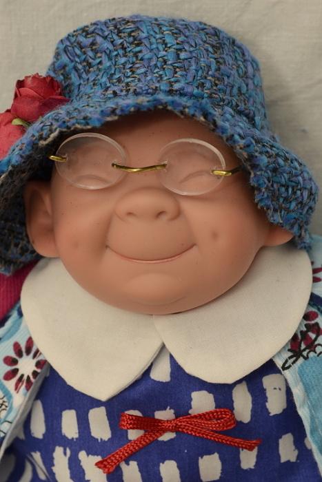 Vysmátá babička
