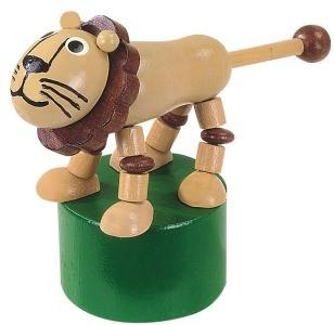 DETOA mačkací figurka lev