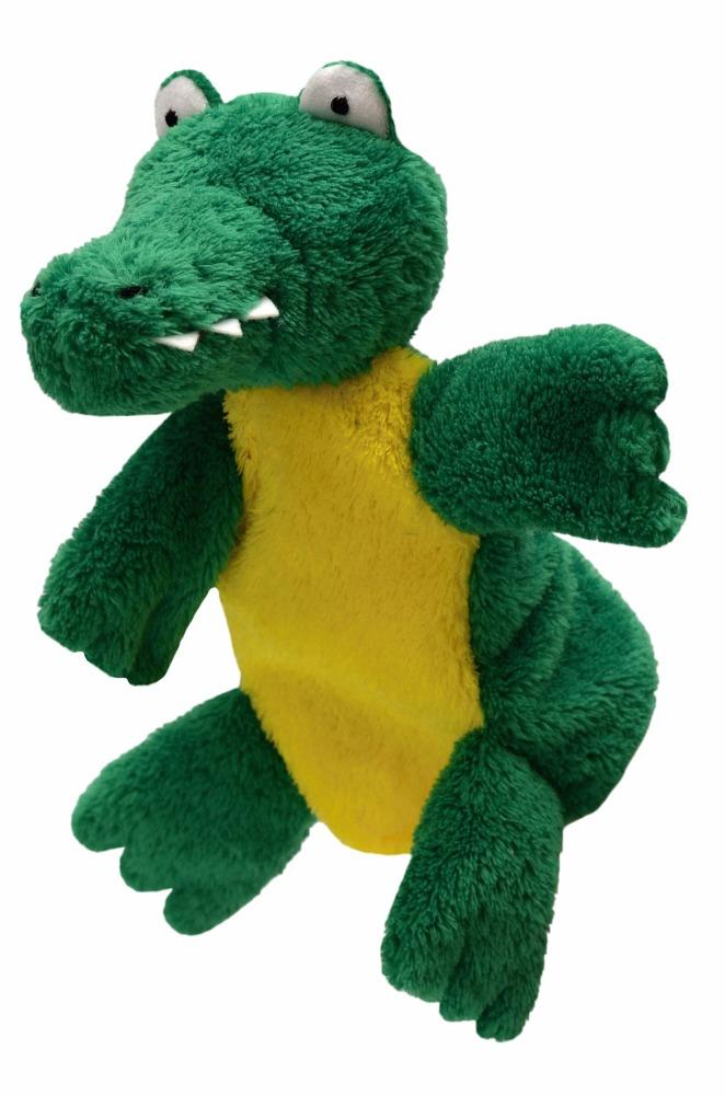 Maňásek na ruku s nohama - Krokodýl