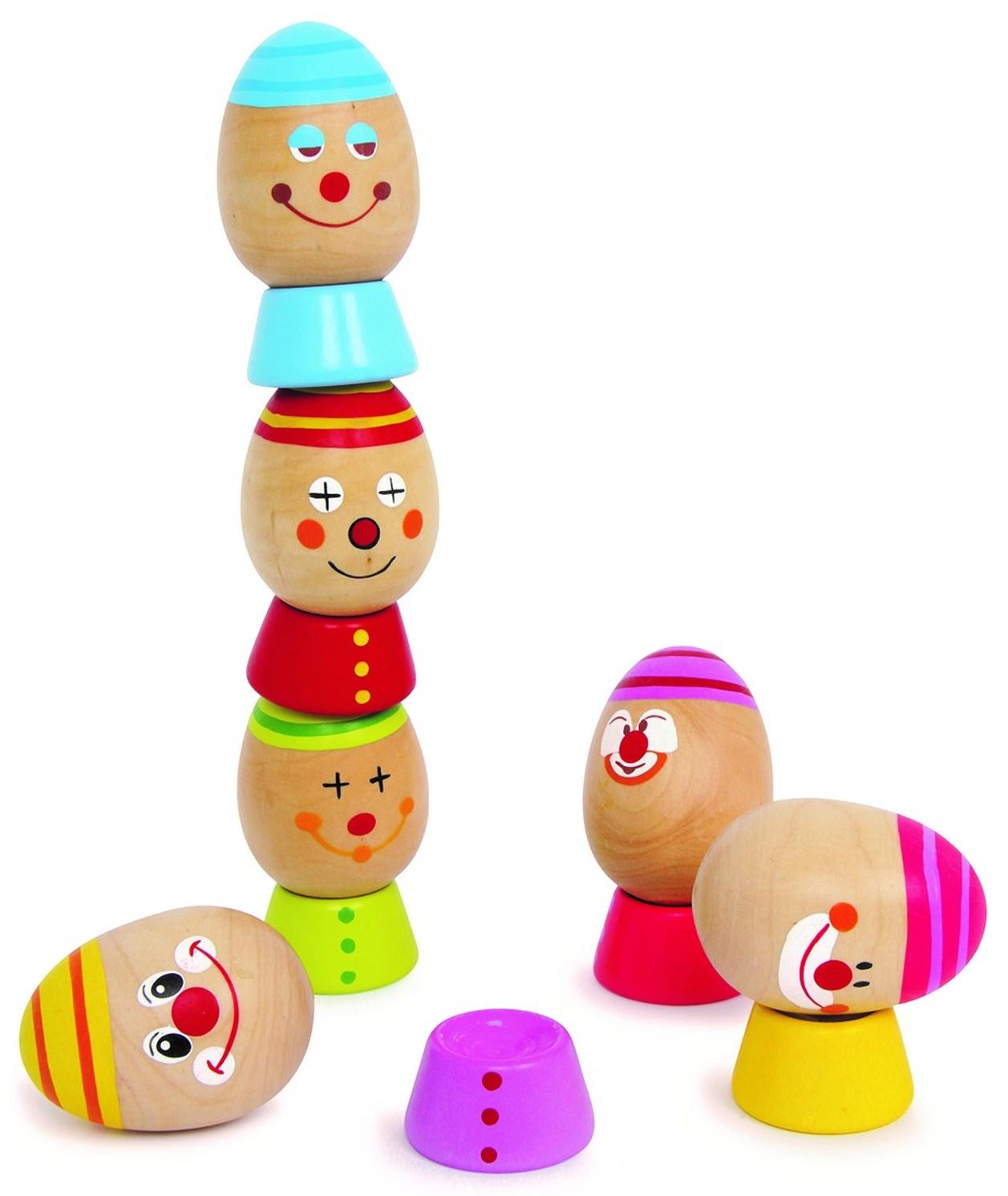 Vejce na sobě (Dřevěná hračka)