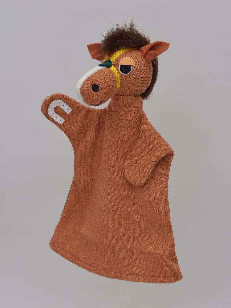 Maňásek na ruku - Kůň Argo (23 cm)