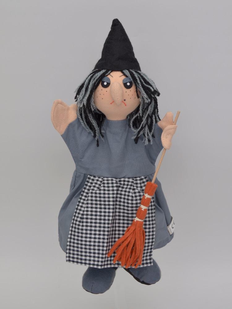 Maňásek na ruku - Čarodějnice (35 cm)