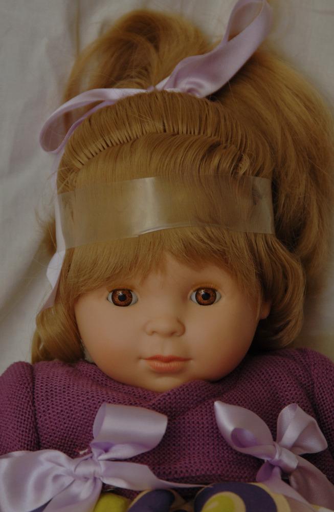 Realistická panenka holčička Blanca - světlé vlásky od f. Berjuan ze Španělska (Doprava zdarma)