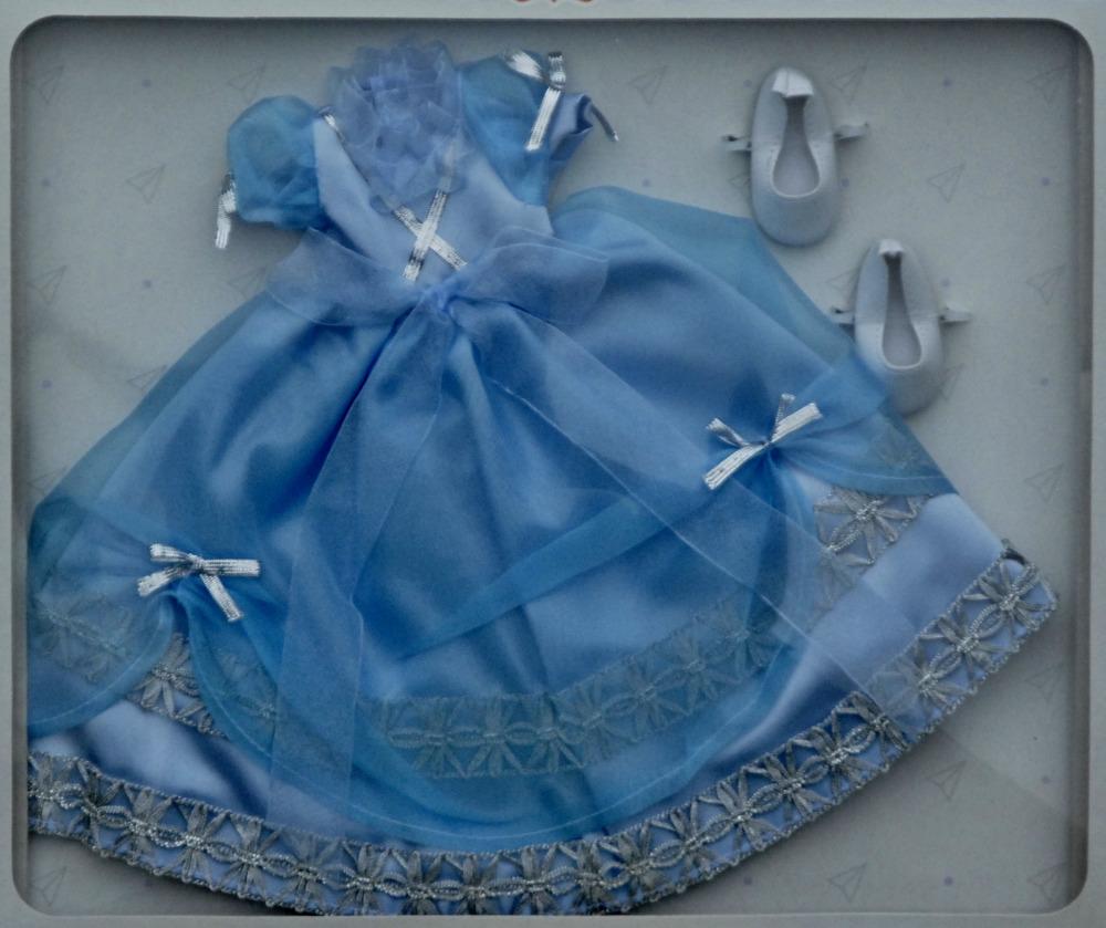 Sada na Modrou princeznu 04570 (Obleček + boty)