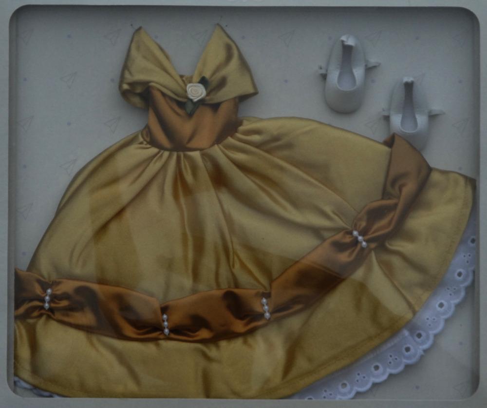 Sada na Žlutou princeznu 04571 (Obleček + boty)