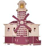 Maják P146 (3D dřevěné puzzle - budovy)