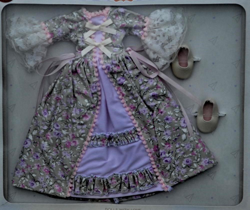 Sada na panenku Nasťu 04552 (Obleček + boty)