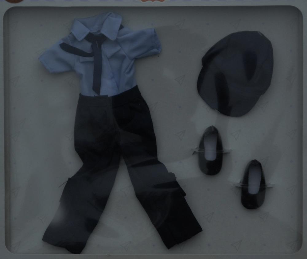 Sada na panenku policajtku 04609 (Obleček + boty)