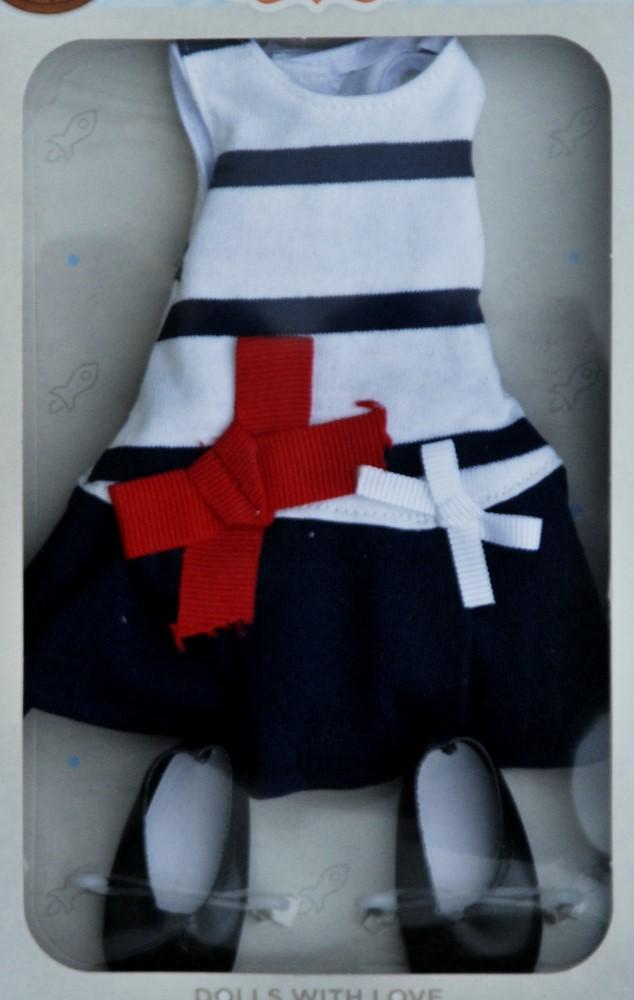Sada na panenku Ilonu 04639 (Obleček + boty)
