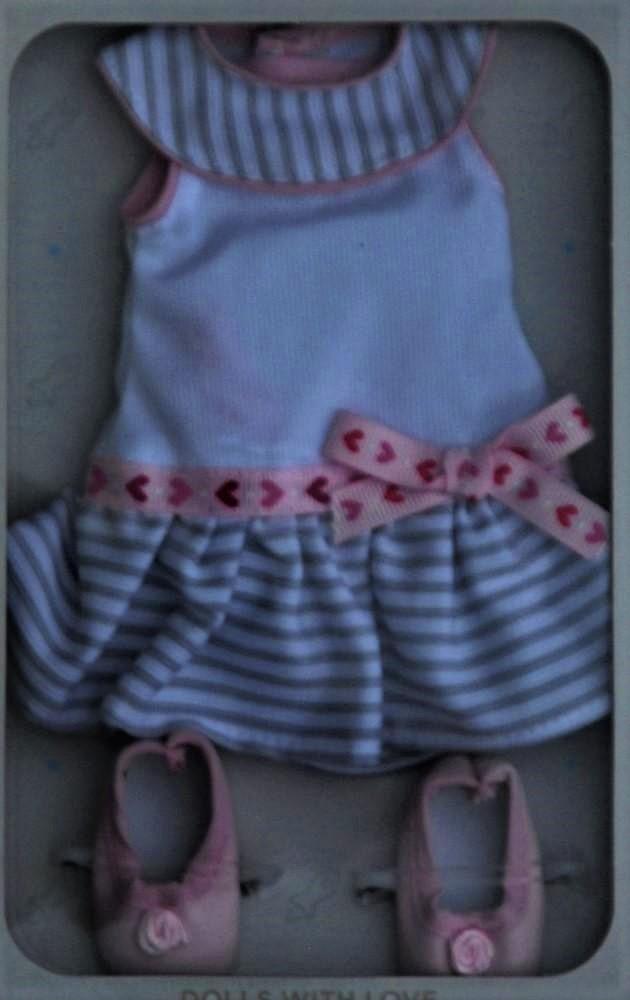 Sada na panenku Táňu 04641 (Obleček + boty)