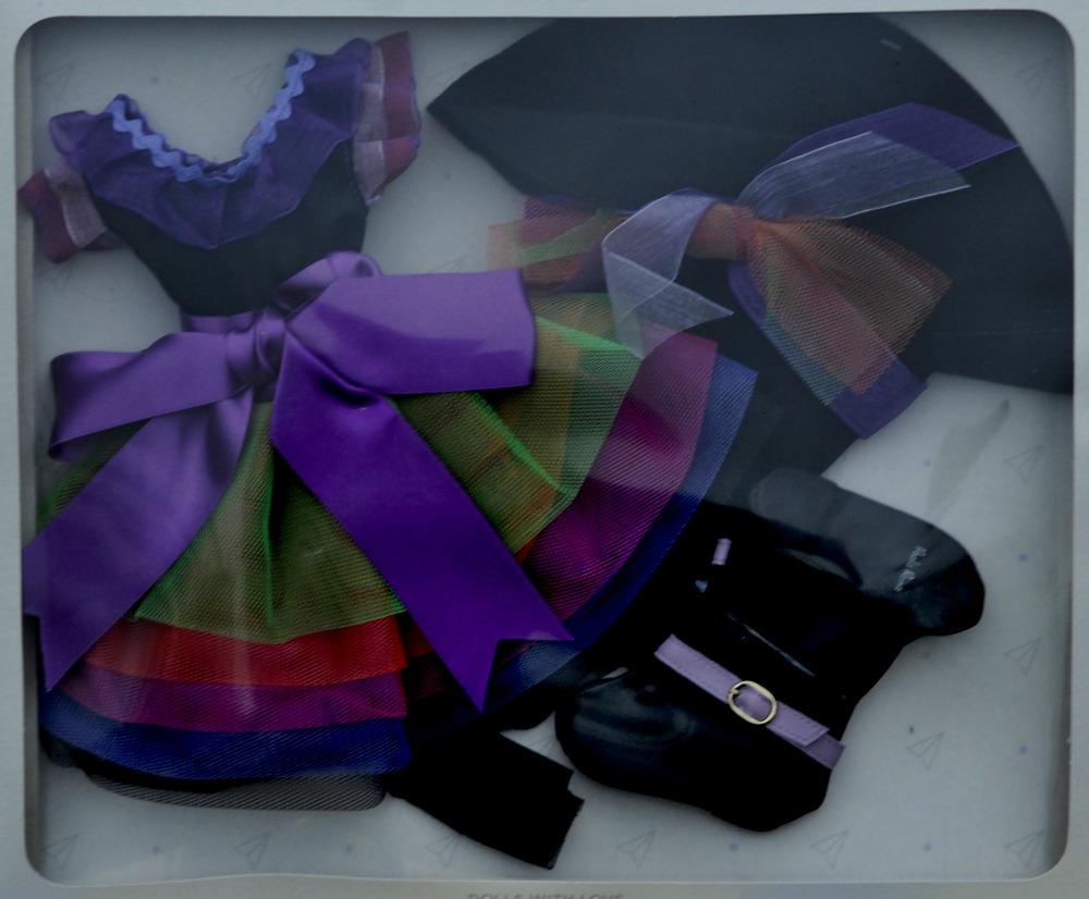 Sada na panenku čarodějku 06073 (Obleček + boty)