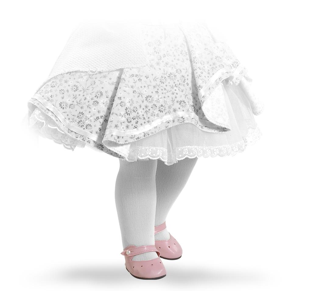 Růžové střevíčky na panenky 60 cm vysoké