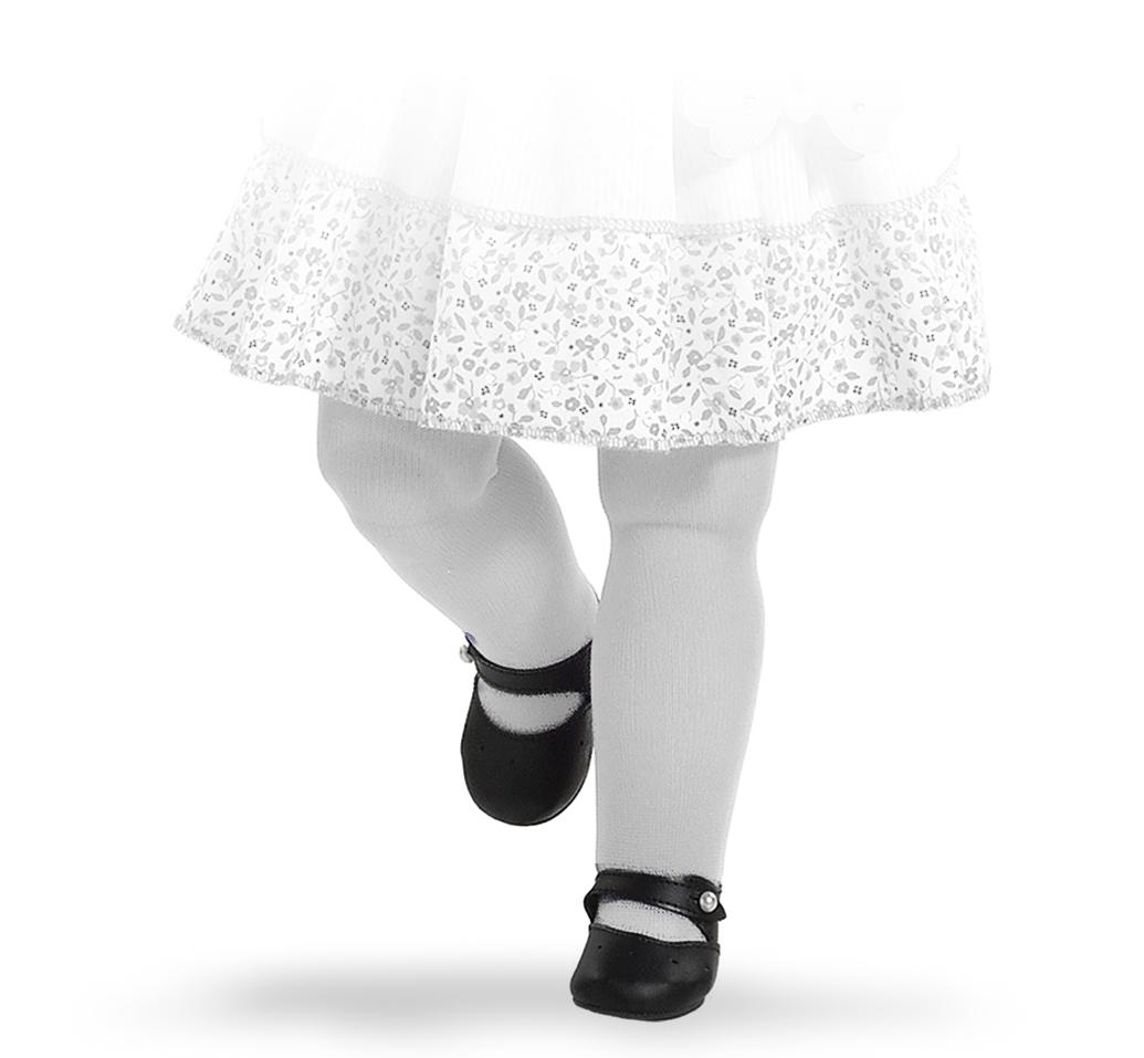 Černé střevíčky na panenky 60 cm vysoké