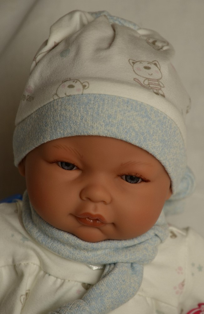 Realistické miminko - chlapeček - Bimbo Pelele od Antonio Juan (Doprava zdarma)