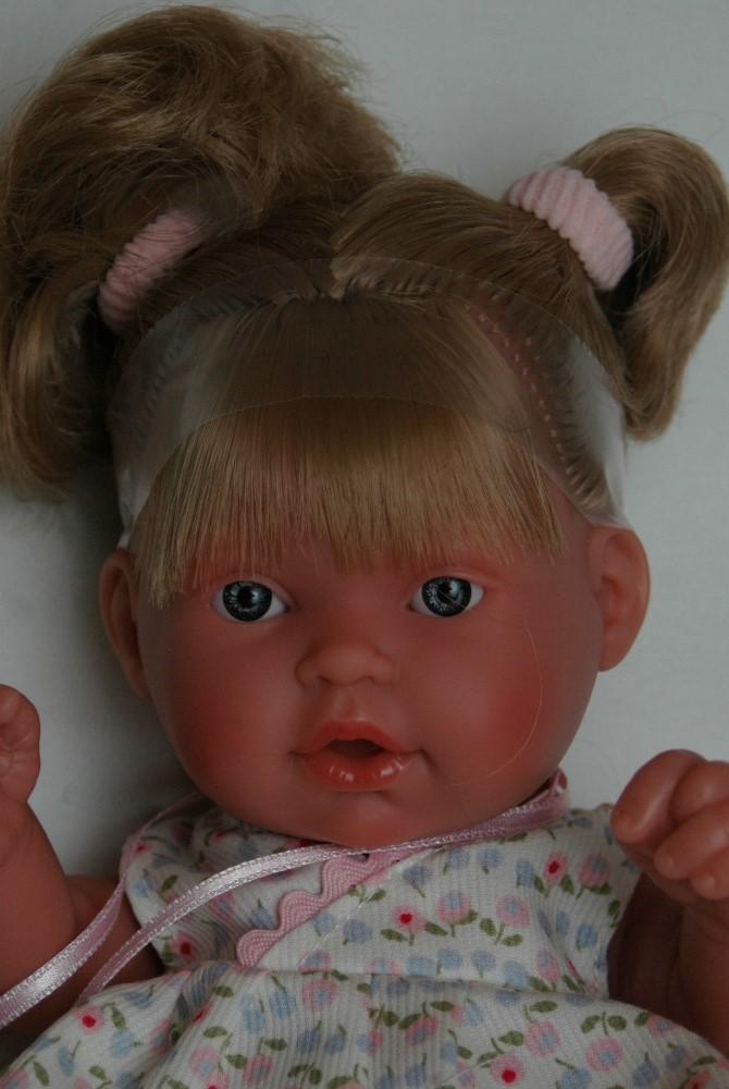 Realistická panenka - holčička - Tita coletas - Markéta