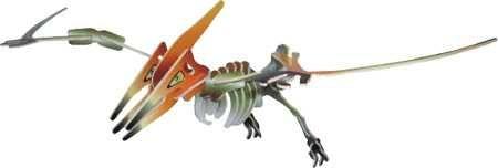 Dřevěné 3D puzzle skládačka - dinosauři - Pteranodon (Dřevěné 3D puzzle dřevěná skládačka dinosauři Mamut J011)